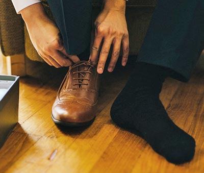 Die Schuhmacher Uelzen - Schuhe richtig anziehen
