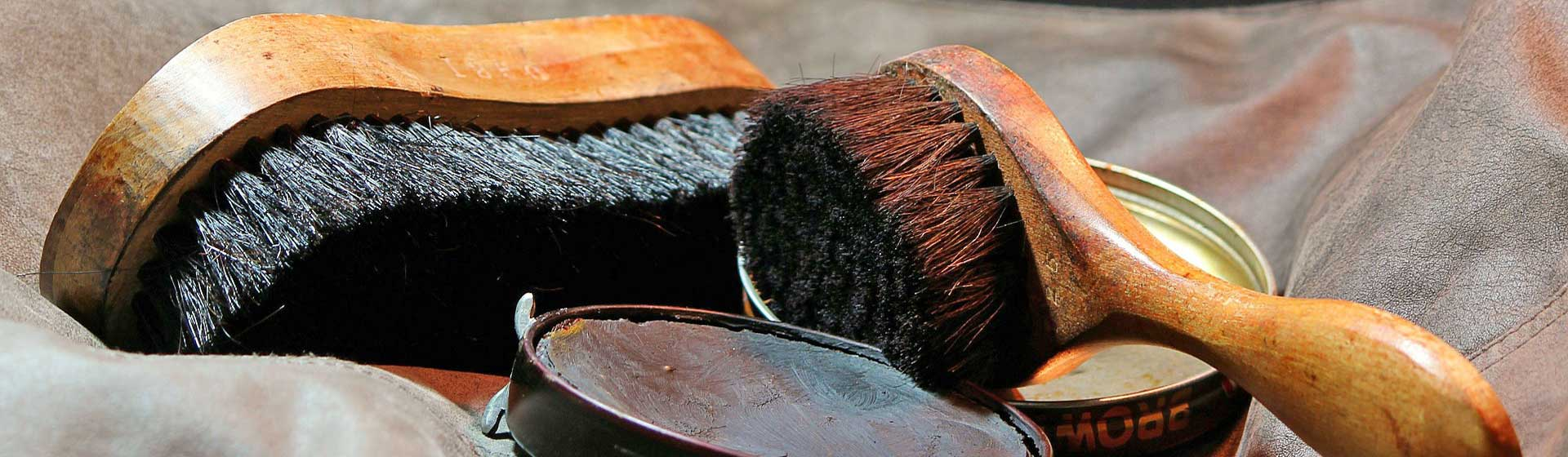 Die Schuhmacher Uelzen - Schuhpflege - Headerbild
